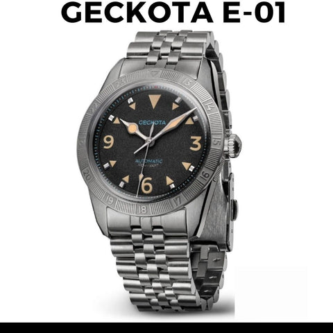 Geckota E-01 2nd Generation Watch