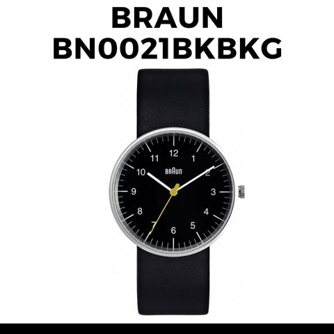 Braun BN0021BKBKG Watch