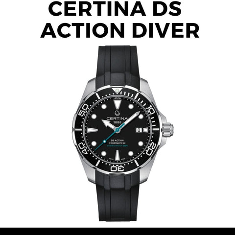 Certina DS Action Sea Turtle Watch