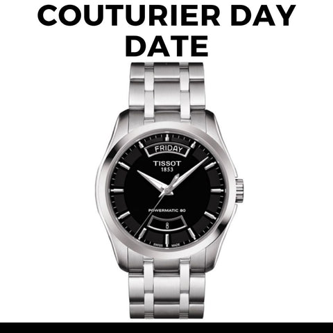 Tissot Couturier Day Date Watch
