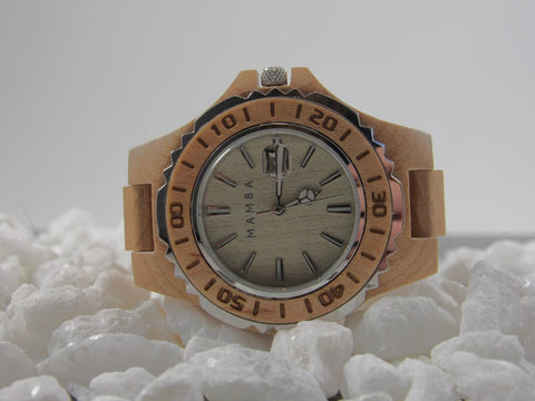 Mamba Wood Watch