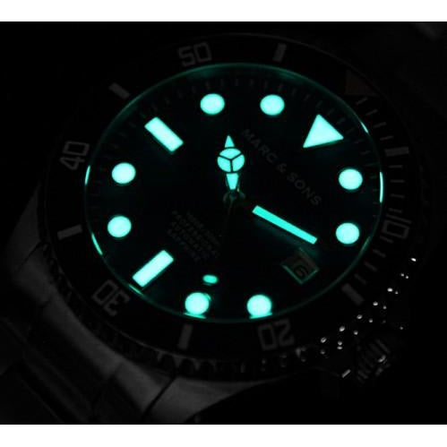 MARC & SONS Professional automatic Diver watch MSD-023 - Watchfinder General - UK suppliers of Russian Vostok Parnis Watches MWC G10  - 3