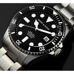 MARC & SONS Professional automatic Diver watch MSD-023 - Watchfinder General - UK suppliers of Russian Vostok Parnis Watches MWC G10  - 2