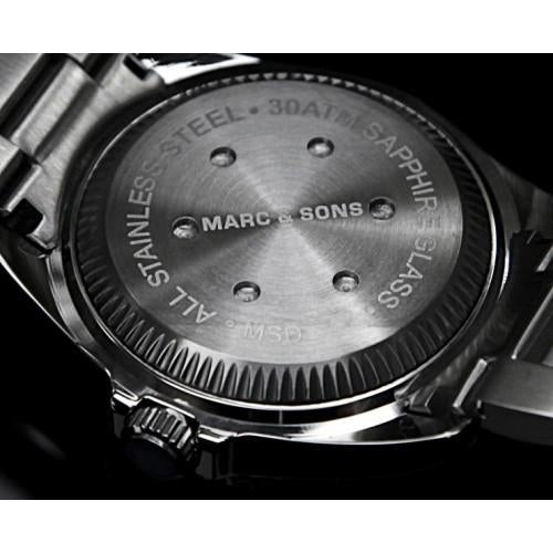 MARC & SONS Professional automatic Diver watch MSD-023 - Watchfinder General - UK suppliers of Russian Vostok Parnis Watches MWC G10  - 4