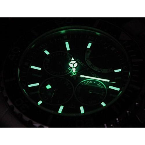 MARC & SONS 1000M Automatic Watch MSD-041 - Watchfinder General - UK suppliers of Russian Vostok Parnis Watches MWC G10  - 3
