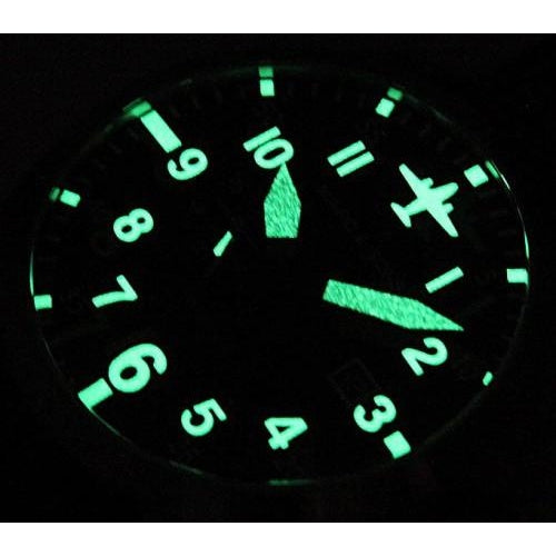 MARC & SONS Automatic Pilot Watch  MSF-004 - Watchfinder General - UK suppliers of Russian Vostok Parnis Watches MWC G10  - 3