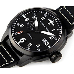 MARC & SONS Automatic Pilot Watch  MSF-004 - Watchfinder General - UK suppliers of Russian Vostok Parnis Watches MWC G10  - 2