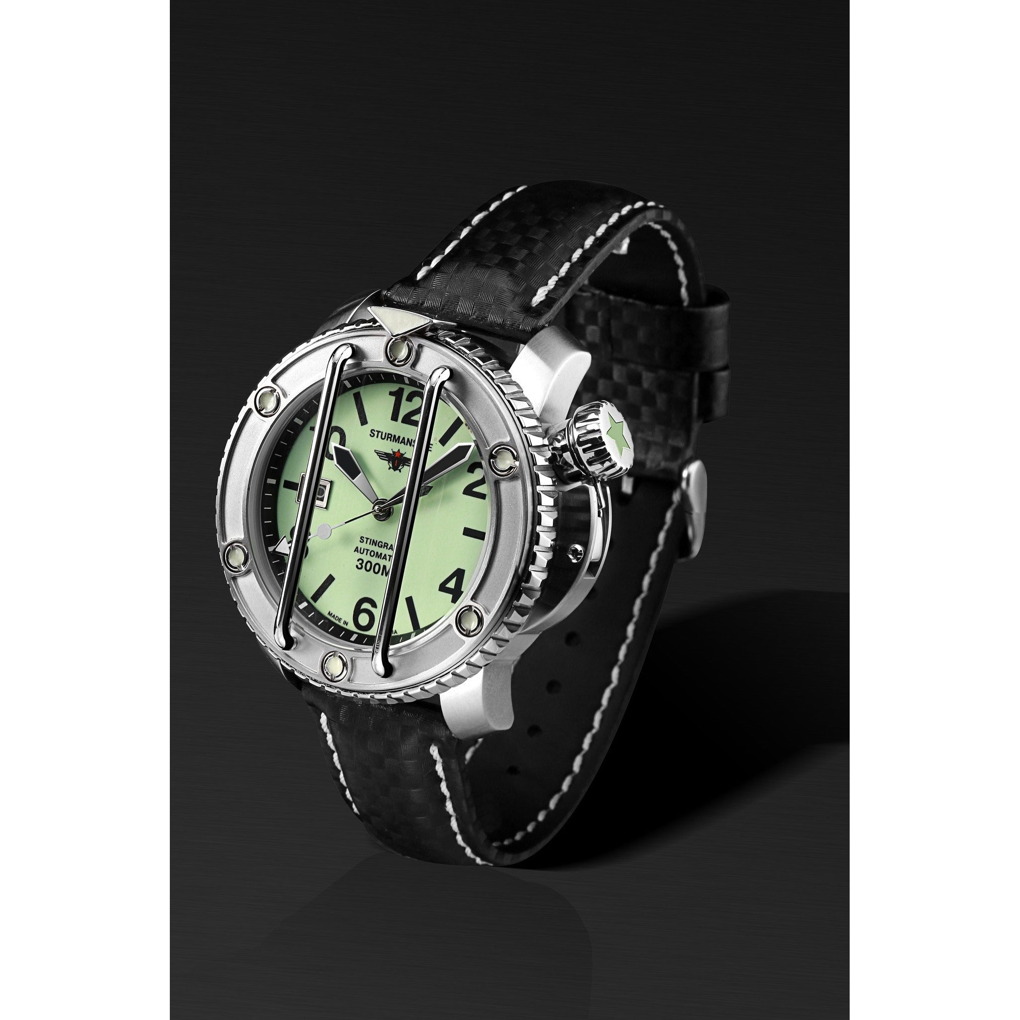 Sturmanskie Ocean Stingray Automatic Watch NH35/1825898 - Watchfinder General - UK suppliers of Russian Vostok Parnis Watches MWC G10  - 2