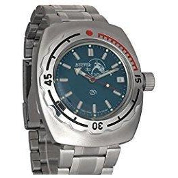 Vostok Amphibia Blue Scuba Dude Automatic Divers Watch - 090059