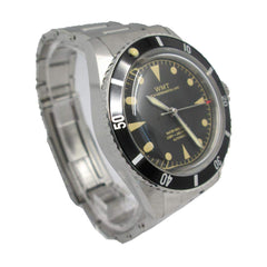 Walter Mitt Sea Diver Automatic Black Watch with Bracelet - SDBLAB