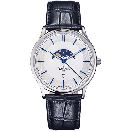 Davosa Flatline Moonphase Dress Watch - 16249615