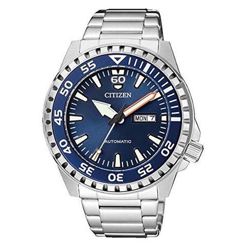 Citizen Automatic Watch with Stainless Steel Strap - NH8389-88LE
