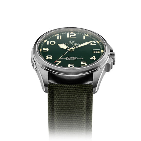 Sea-Gull Automatic Chinese Military Watch - D813.581