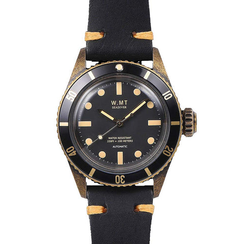Walter Mitt Sea Diver Automatic Watch Bronze - SDBR