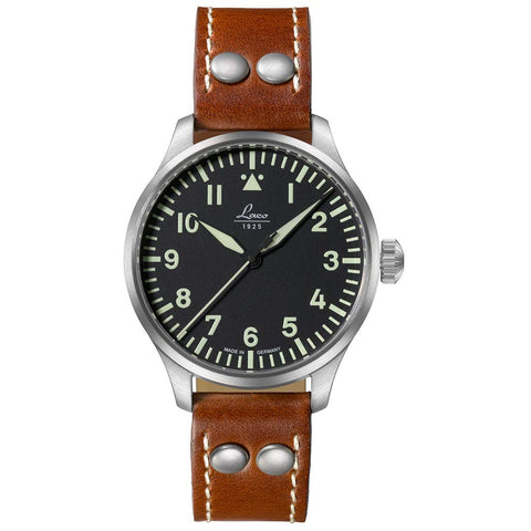 Laco Augsburg 39 Automatic Pilots Watch - Type A Dial