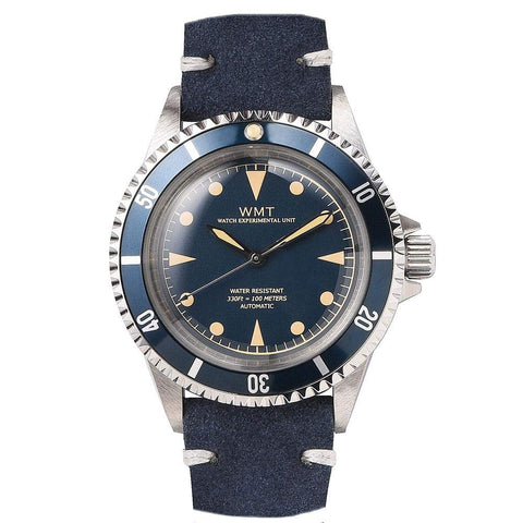 Walter Mitt Royal Marine Automatic Diver Watch - Blue