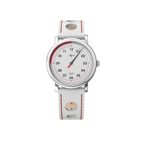 Luch Handwinding One-Handed Speed Watch White - 71951778