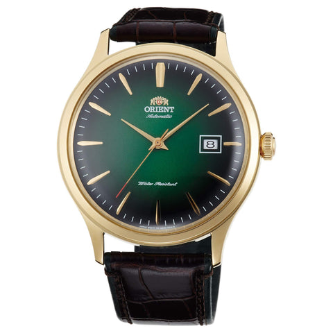 Orient Bambino Version 4 Automatic Watch with Leather Strap - FAC08002F0