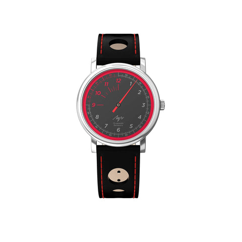 Luch Handwinding One-Handed Speed Watch Black 71951774