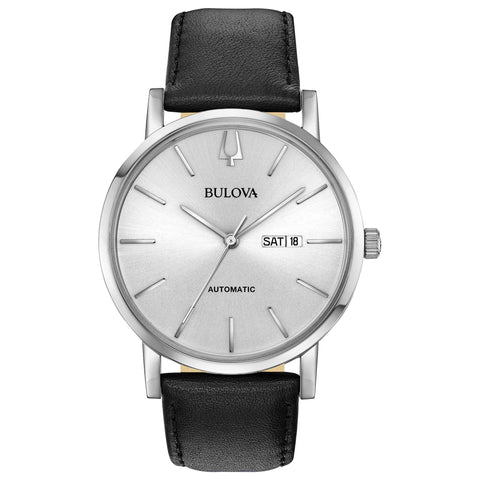 Bulova Classic Automatic Silver Dial Watch -  96C130
