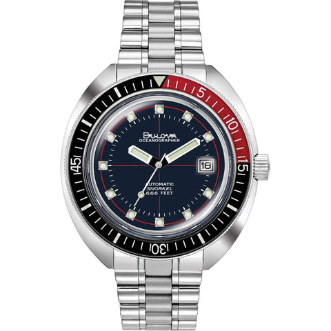 Bulova Devil Diver Special Edition Oceanographer Watch 98B320