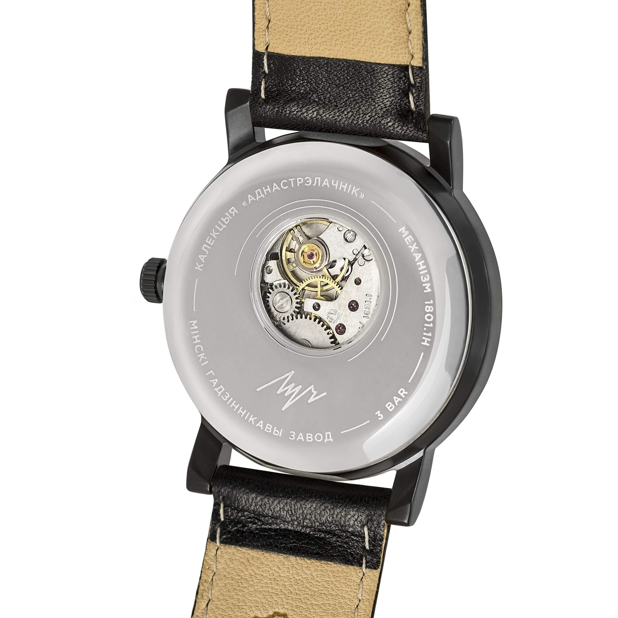Luch Handwinding One-Handed Watch with Sapphire Crystal - 71957784