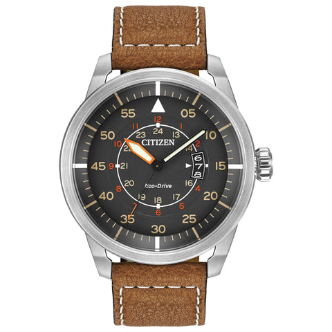 Citizen Avion Eco-drive Pilots Watch - AW1361-10H