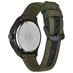 Citizen Solar Powered Watch with Textile Strap - BU2055-16E