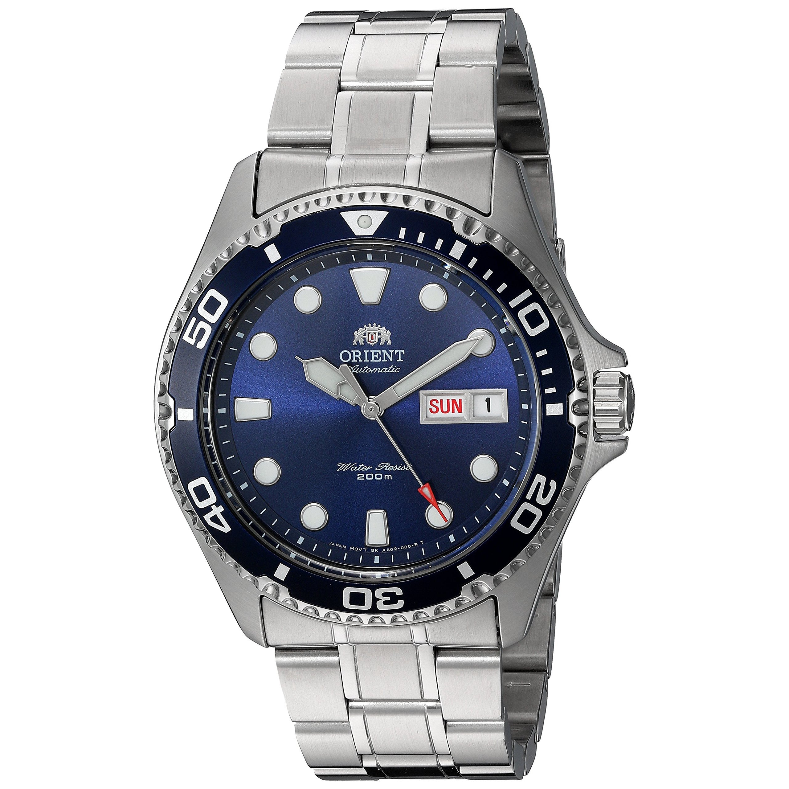 Orient Ray II Blue Automatic Watch with Bracelet - FAA02005D9