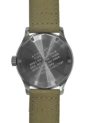 A-11 1940s WWII Pattern Quartz Military Watch 100m