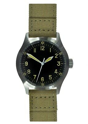 A-11 1940s WWII Pattern Automatic Military Watch 100m