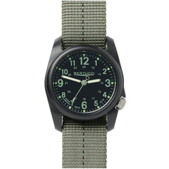 Bertucci DX3 Plus Field Resin Watch (Dash-Striped Drab Nylon Strap) 11040