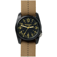 Bertucci DX3 Plus Field Resin Watch (Dash-Striped Desert Nylon Strap) 11041