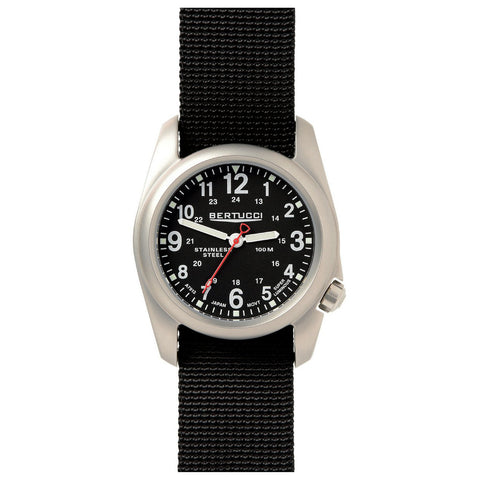 Bertucci 11050 A-2S Field Watch (Black Strap)