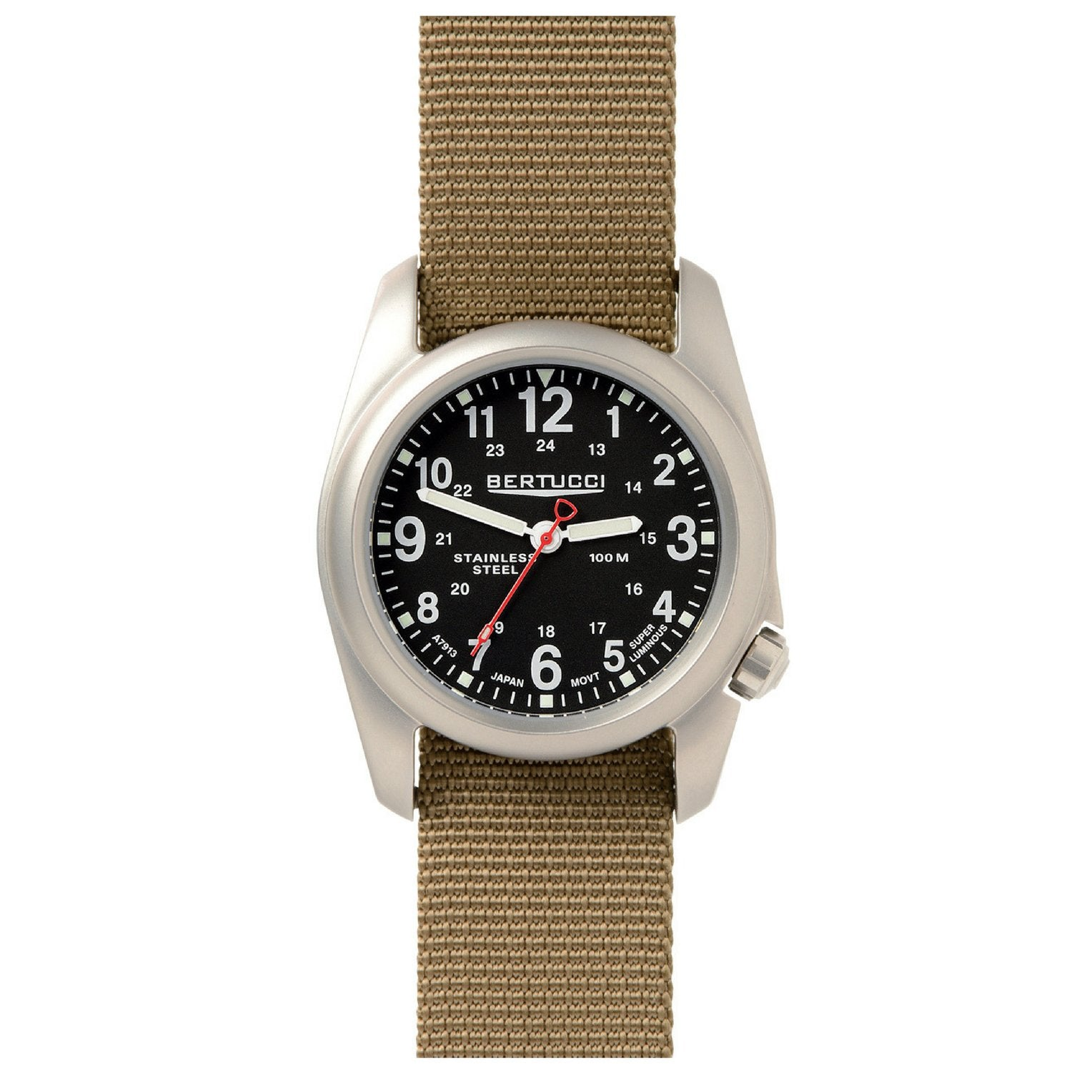 Bertucci 11052 A-2S Field Watch (Defender Khaki Strap)