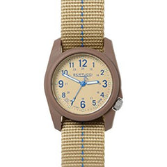 Bertucci DX3 Plus Field Resin Watch (Blue Dash-Striped Nylon Strap) 11080