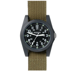 Bertucci A-3P Sportsman Vintage Field Watch - Black Dial 13351