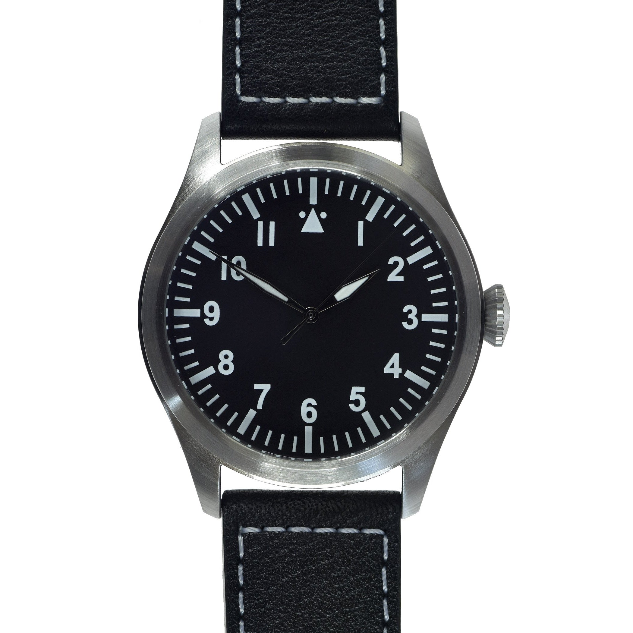 MWC Classic 46mm Limited Edition XL Military Pilots Watch with Sweep Second Hand Unbranded