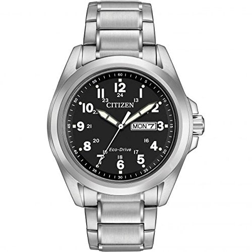 Citizen Chandler Eco-drive Stainless Steel Watch - AW0050-82E