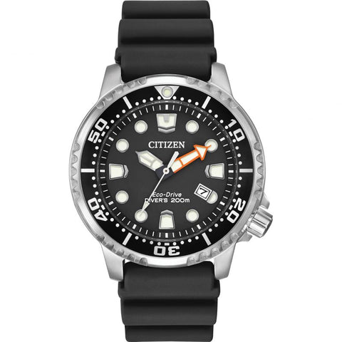 Citizen Promaster Diver Solar Powered Divers Watch with Black Dial - Bn0150-28E