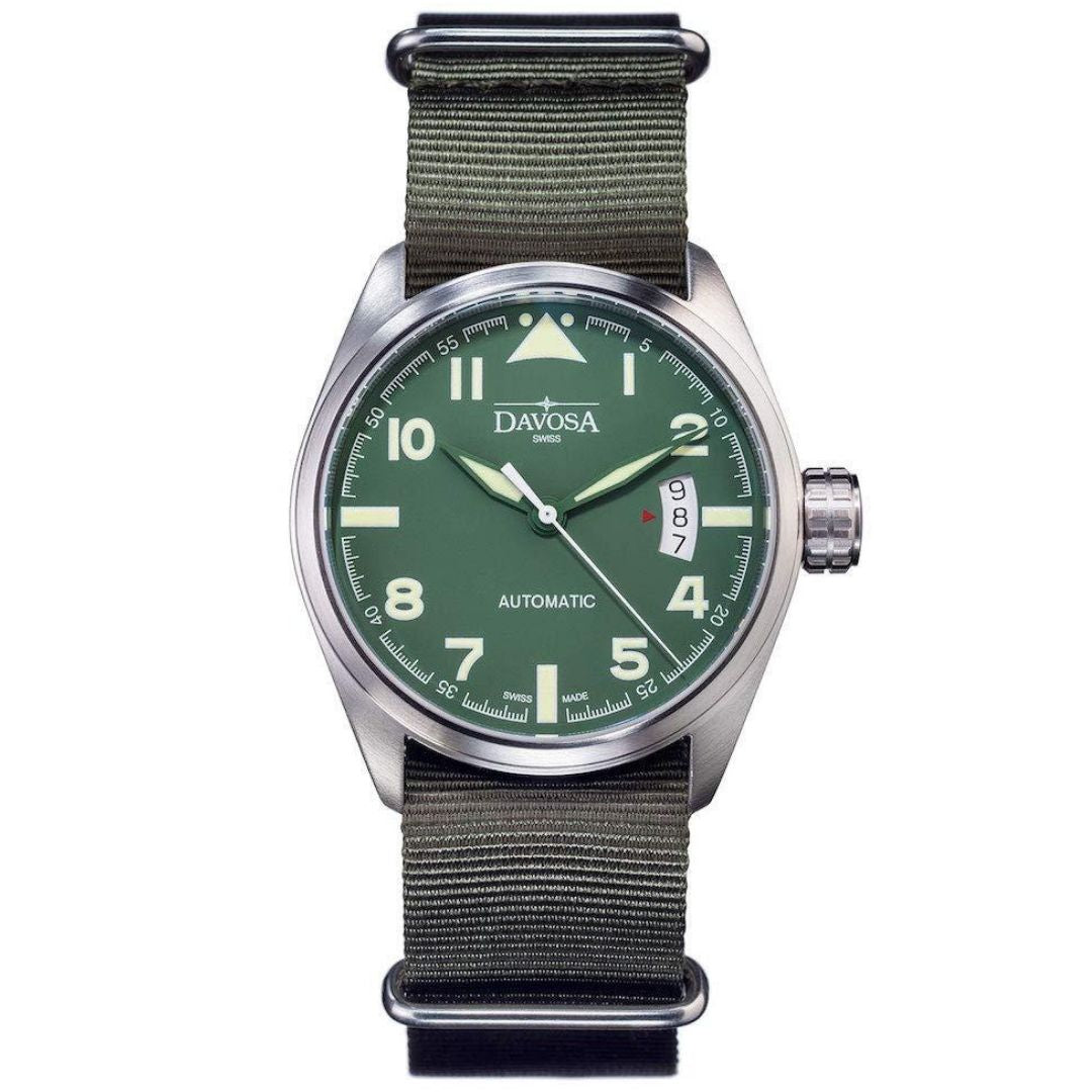 Davosa Automatic Green Military Watch - 16151174