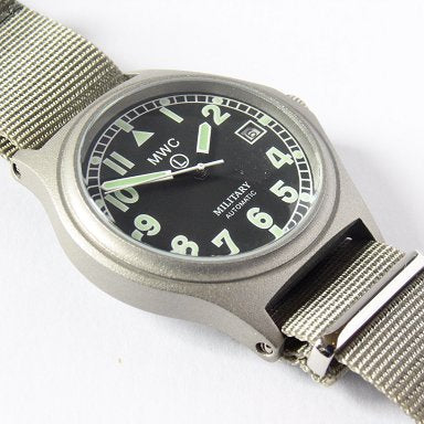 MWC G10 Automatic (100m Water Resistant) Military Watch - Watchfinder General - UK suppliers of Russian Vostok Parnis Watches MWC G10  - 2