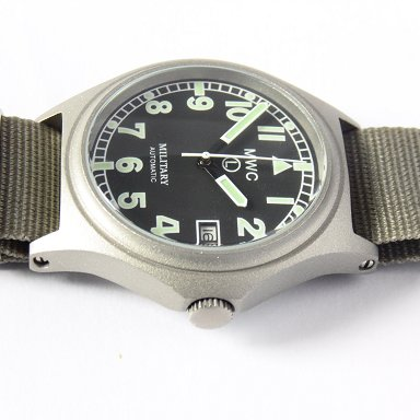 MWC G10 Automatic (100m Water Resistant) Military Watch - Watchfinder General - UK suppliers of Russian Vostok Parnis Watches MWC G10  - 4