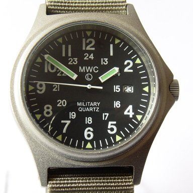 MWC G10BH 12/24 50m Water Resistant Military Watch - Watchfinder General - UK suppliers of Russian Vostok Parnis Watches MWC G10  - 3