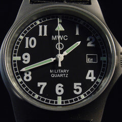MWC G10 LM Military Watch (Black Strap) - Watchfinder General - UK suppliers of Russian Vostok Parnis Watches MWC G10  - 5