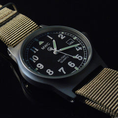 MWC G10 LM Military Watch (Desert Strap) - Watchfinder General - UK suppliers of Russian Vostok Parnis Watches MWC G10  - 2