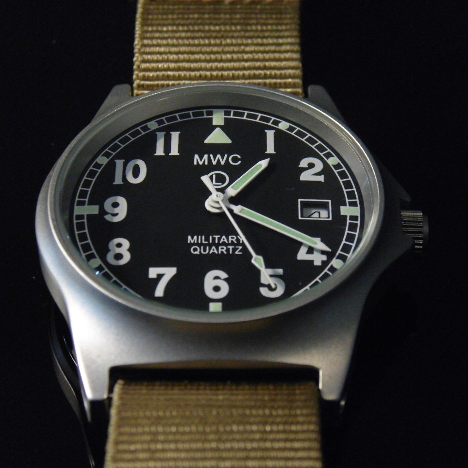 MWC G10 LM Military Watch (Desert Strap) - Watchfinder General - UK suppliers of Russian Vostok Parnis Watches MWC G10  - 4