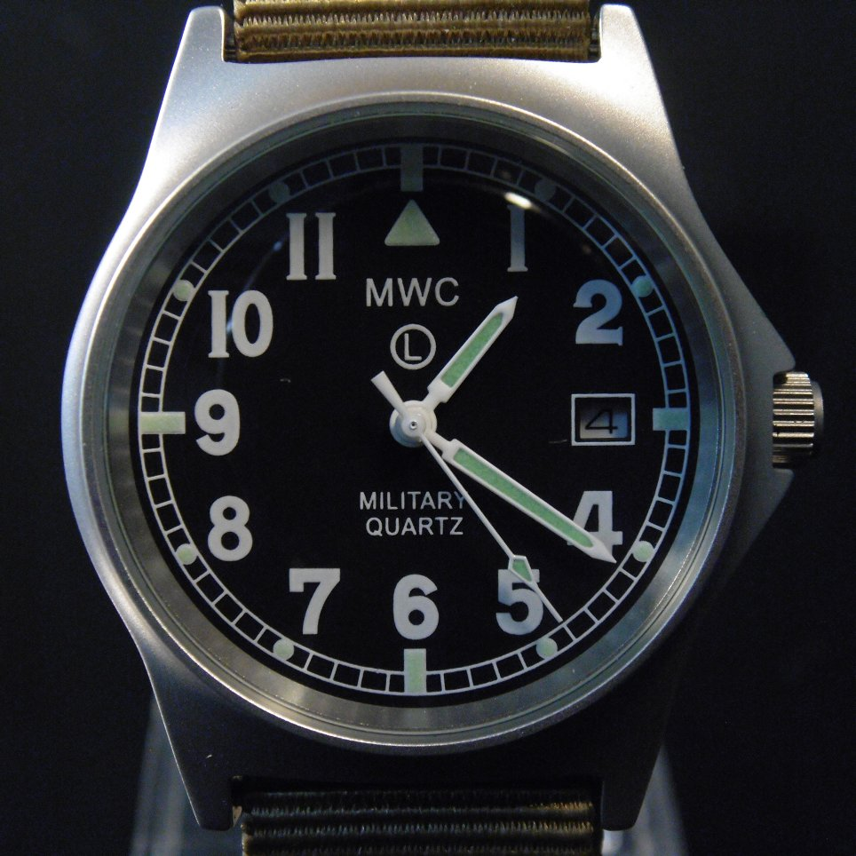 MWC G10 LM Military Watch (Desert Strap) - Watchfinder General - UK suppliers of Russian Vostok Parnis Watches MWC G10  - 5