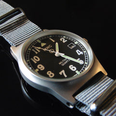 MWC G10 LM Military Watch (Grey Strap) - Watchfinder General - UK suppliers of Russian Vostok Parnis Watches MWC G10  - 2