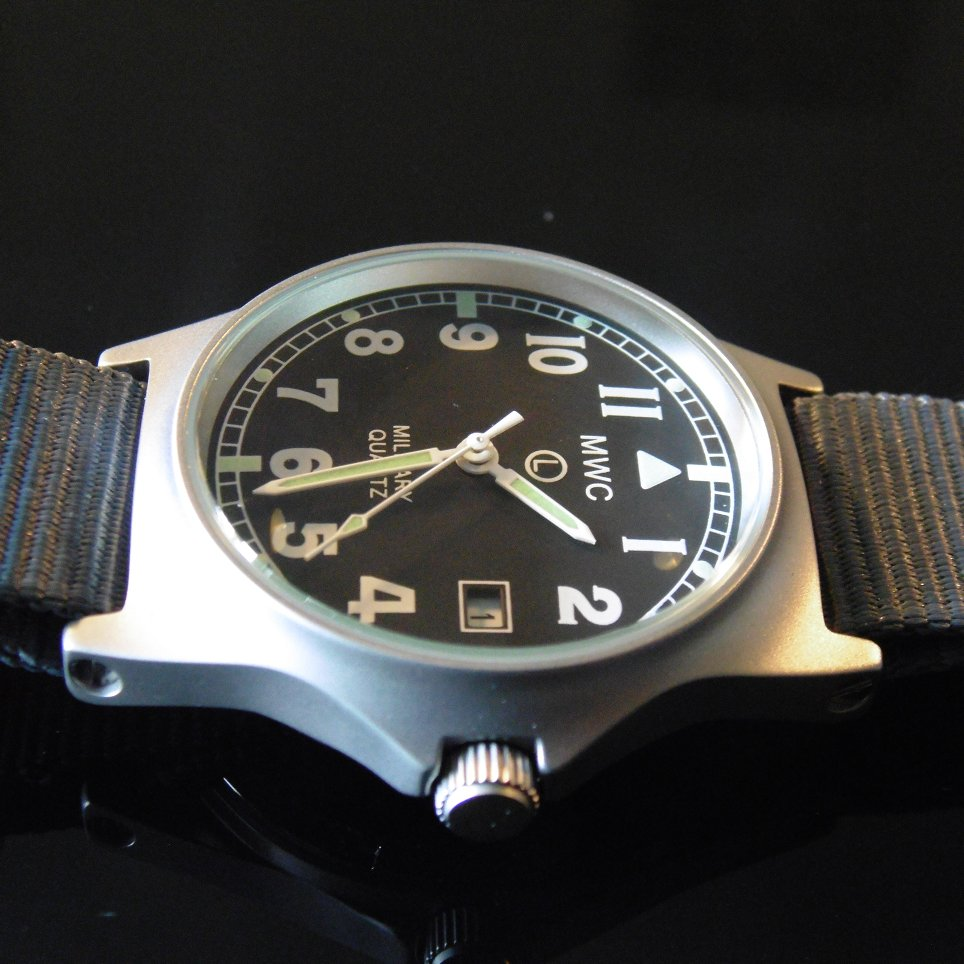 MWC G10 LM Military Watch (Grey Strap) - Watchfinder General - UK suppliers of Russian Vostok Parnis Watches MWC G10  - 3